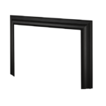 3-Sided Deluxe Trim Kit - Black