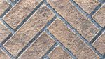 Brick Panel - Rustic Brown Herringbone