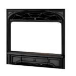 Cast Iron Front - Black