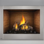 Clean Face Design, PHAZER® Log Set, Decorative Sandstone Brick Panels