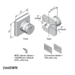 Co-Linear Side Wall Kit (for use with 739J engine)