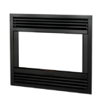 Contemporary Steel Front - Black
