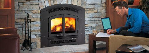 Excalibur EX90 Wood Fireplace