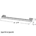 Lift Trim Kit - Black (must be used with 752BTK:BVK)