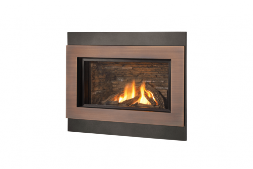 Logs, Outer Square Surround and Copper Inner Bezel