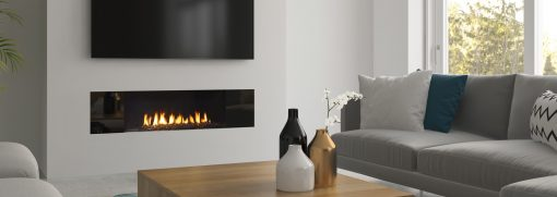 New York View 40 Gas Fireplace