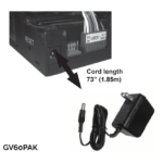 Power Adapter Kit (for use with ValorStat Max Remote)