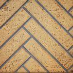Sandstone Herringbone Decorative Brick Panels