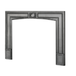 Square Cast Iron Surround (for use with 610:611 fronts)