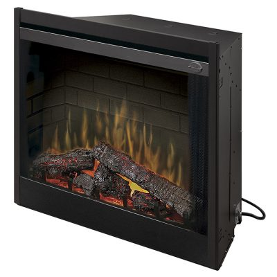 39 Deluxe Built-in Electric Firebox