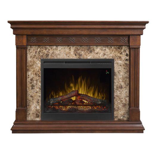 Alcott Mantel Electric Fireplace