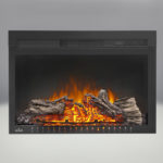 Comes with the Cinema™ 27 Electric Fireplace