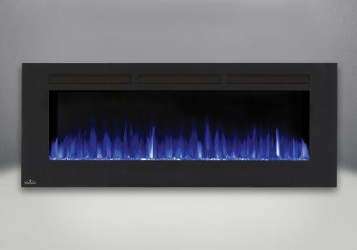 Flames set on blue-Allure™ 60