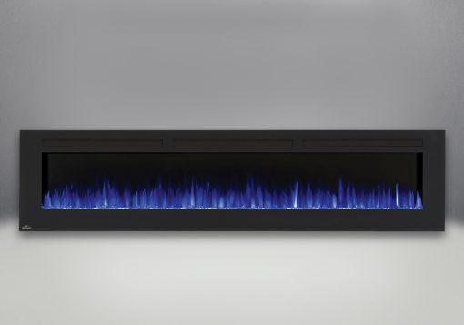 Flames set on blue-Allure™ 100