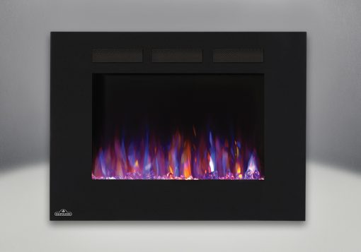 Flames set on combined orange and blue-Allure™ 32