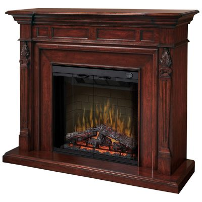 Torchiere Electric Fireplace