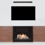 Driftwood & Reflective Glass Liner