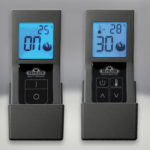 F45 & F60 Remote Controls, On:Off with Digital Screen