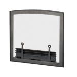 FenderFire Singe Door Front - Black with Vintage Iron