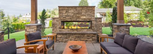 Horizon HZO60 Outdoor Gas Fireplace