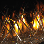 Nickel Stix Designer Fire Art Detail