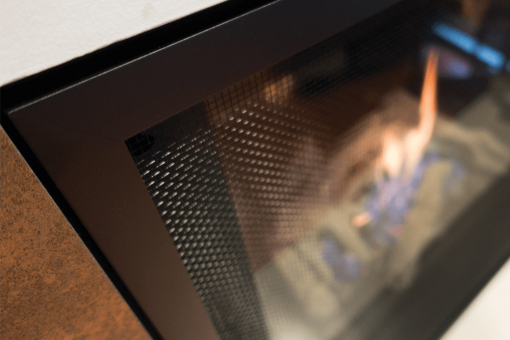 The 1430FFK spans the entire unit and offer high output mesh, allowing for 12% more radiant heat