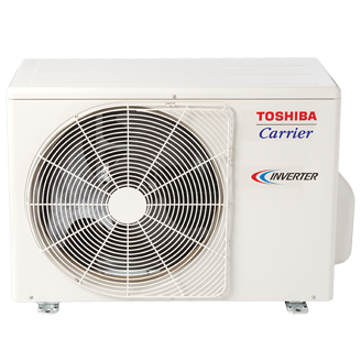 Toshiba Carrier Heat pump with Basepan Heater