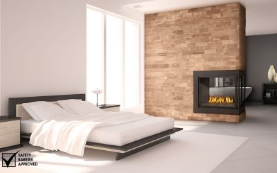 Variety of fireplace sizes and elegant finishes to suit your decor